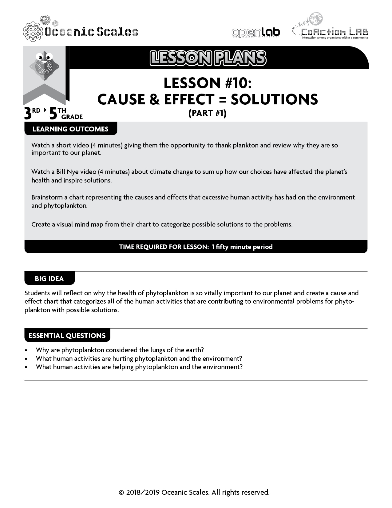Lesson Plan 10 Cause Effect Solutions Part 1 2